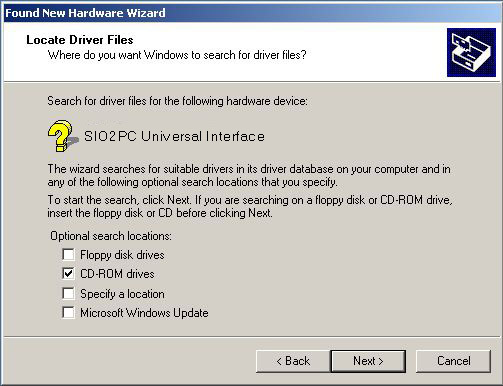 SIO2PC / ProSystem USB Universal Interface Documentation